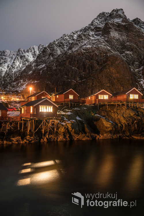 Cabins in Å, Lofoten Islands, Norway 2017.