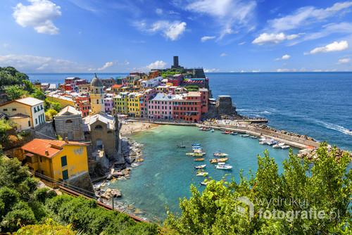 Miasteczko Vernazza we Włoszech