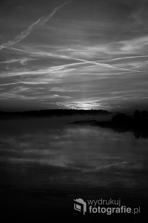 Wschód słońca nad Doliną Narwi, Kurpie Zielone/ maj 2018/ 50mm f5 ISO 100 Nikon D610