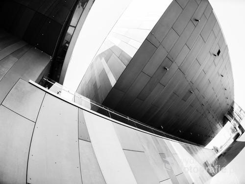 CNK w niecodziennej perspektywie. Tunel od strony Bulwarów Wiślanych/ f2,8 16mm 1/200s ISO 100 Nikon D610
