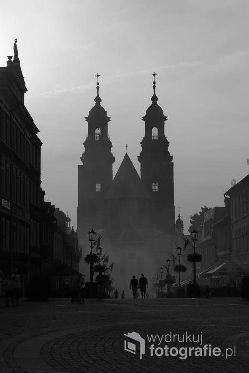 Zdjęcie przedstawia Gnieźnieńską Katedrę.