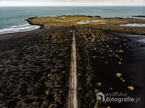 Stokksnes, Islandia z drona