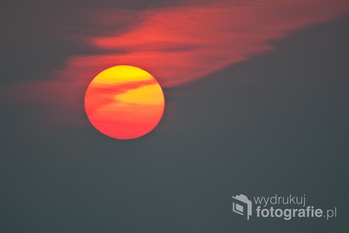 Wschód słońca w Dolinie Narwi.