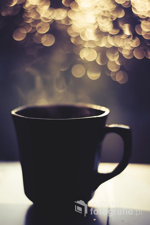 Filiżanka porannej kawy.