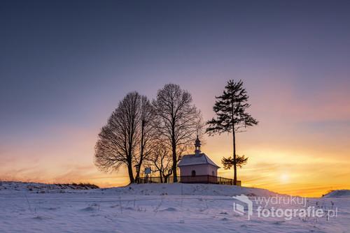 Kapliczka św. Nepomucena na Roztoczu Wschodnim, Nowiny horynieckie.