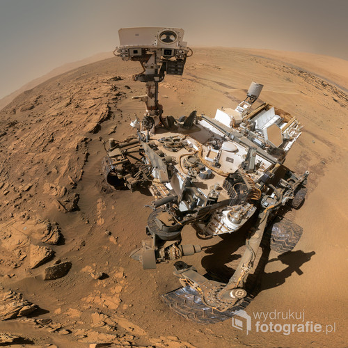 Selfie Curiosity Rover SOL 613 www.tomaszmielnik.pl
