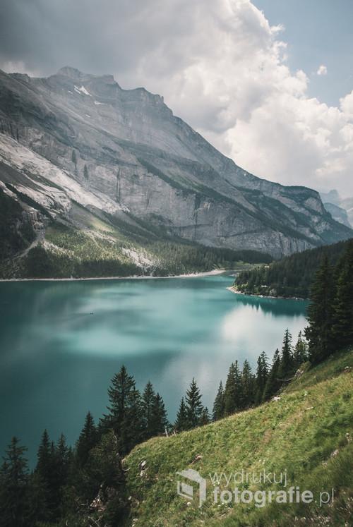 Jezioro Oeschinen, Szwajcaria