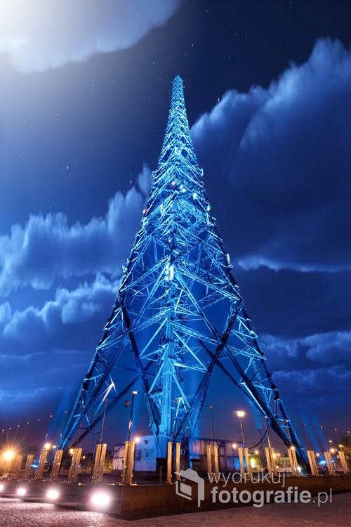 Radiostacja Gliwice najwyższa konstrukcja drewniana w Europie