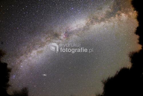 Cicha Dolina, Bieszczady tylko aparat i ja, 12 minut naświetlania i widzimy jedno z ramion Naszej Galaktyki. Można sie rozmarzyć