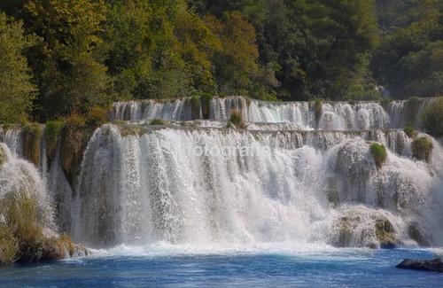 Kraka Wodospady Chorwacja