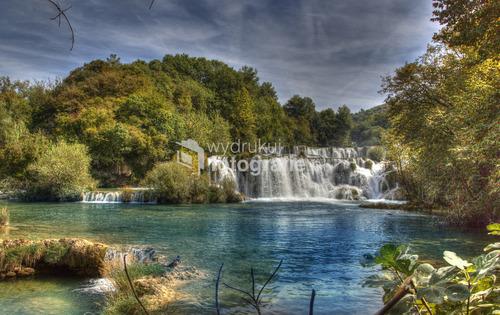 Krka Chorwacja wodospady