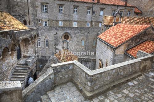 Chorwacja Dubrownik z murów starego miasta