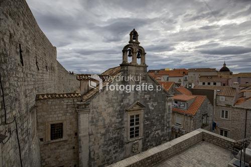 Dubrownik z murów starego miasta