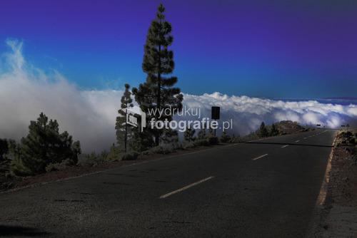 Teneryfa w drodze z pod Teide do Los Gigantos