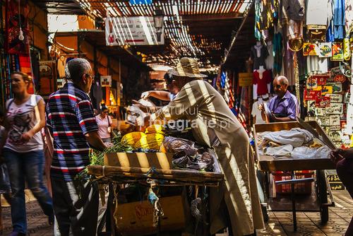 Maroko Dżamaa al-Fina bazar