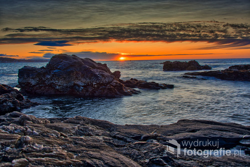 Zdjęcie zrobiłem o wschodzie słońca w miejscowości Mijas w Andaluzi na Costa del Sol