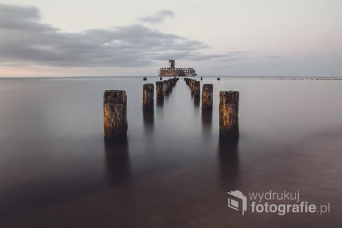 Pozostałości po II wojnie światowej. Torpedownia w Babich Dołach.