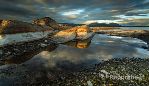 Jezioro Sylsjön  szwecja 2016