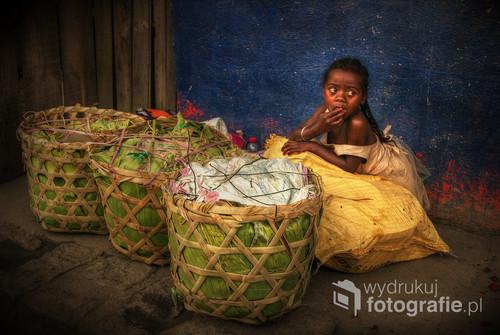 Malownicza scenka z Madagaskaru 2016. Zdjęcie z wystawy