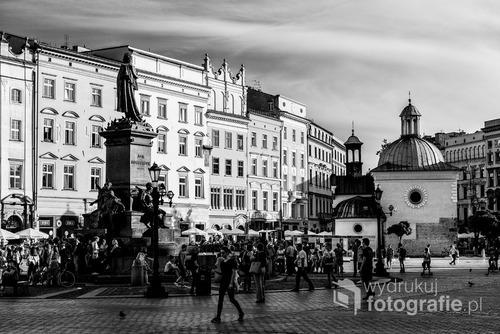 Rynek. Kraków. Wrzesień 2016
