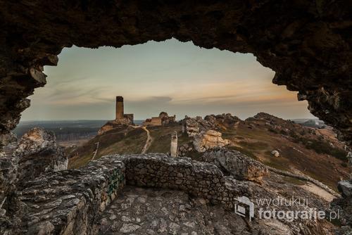 Ruiny zamku w Olsztynie. Szlak Orlich Gniazd. Jura