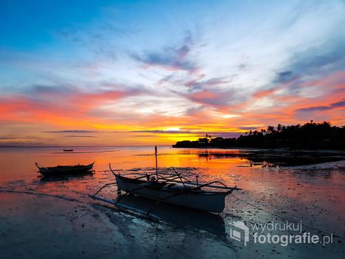 Kolejny z magicznych wieczorów na wyspie Bantayan.