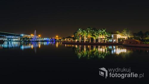 Zdjęcie wykonane w parku Salmiyah Boulevard, Kuwejt. 04-05-2018