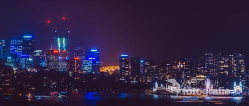 Jeden z niewielu deszczowych dni w Sydney, plusem tego jest