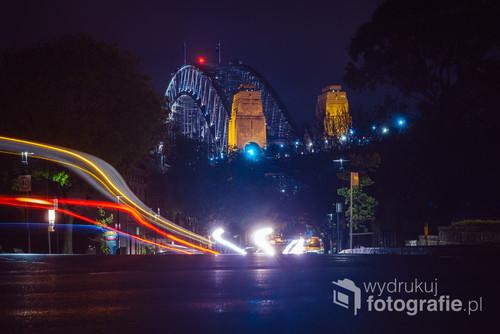Niestandardowa perspektywa na jeden z symboli Sydney, Australia. 11-10-2018