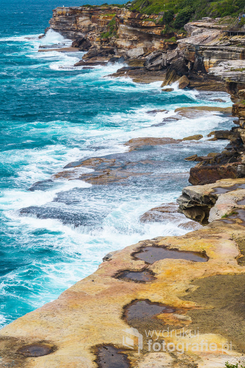 Trasa widokowa z Bondi do Bronte. Sydney, Australia. 11-10-2018