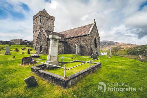 Zdjęcie wykonane w trakcie wyprawy na archipelag Hebrydów Zewnętrznych, należących administracyjnie do Szkocji.