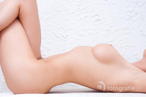 Seksowne ciało uroczej modelki.