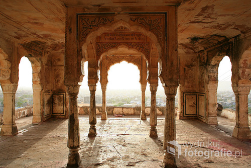 hinduska świątynia w mieście Jaipur