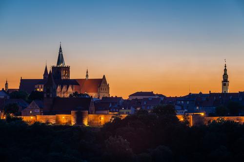 Ta wieczorna panorama Chełmna -