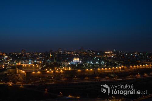 Widok na Stare Miasto z Góry Oliwnej