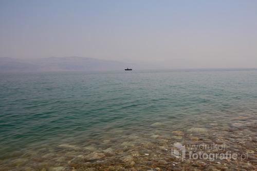 Zdjęcie zostało wykonane w Izraelu w 2015 r.  Morze martwe