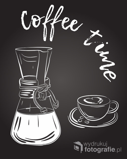 Grafika - czas na kawę