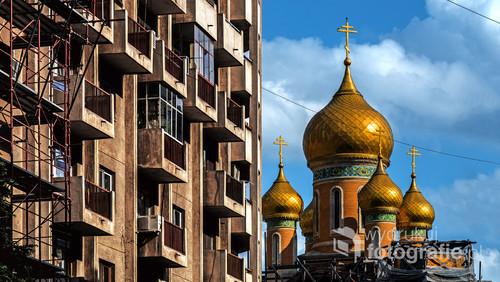 Bukareszt, Rumunia, wiosna 2017 Bazylika Św.Mikołaja