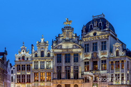 Grand Place, Bruksela, wiosna 2017