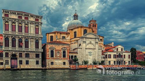 Wenecja, Włochy, lato 2017, Kościół Świętych Jeremiasza Proroka i Łucji Męczennicy