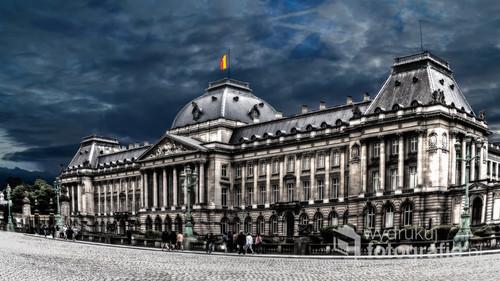 Pałac Królewski w Brukseli, lato 2017