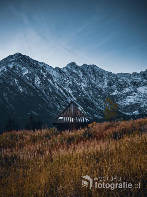 Jedna z wielu Tatrzańskich chatek.