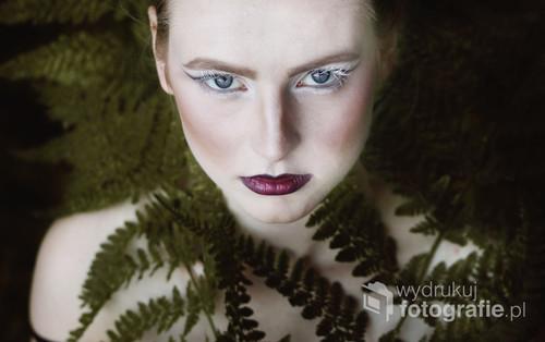 Portretowa sesja z Olą, zdjęcie z 2014 roku.