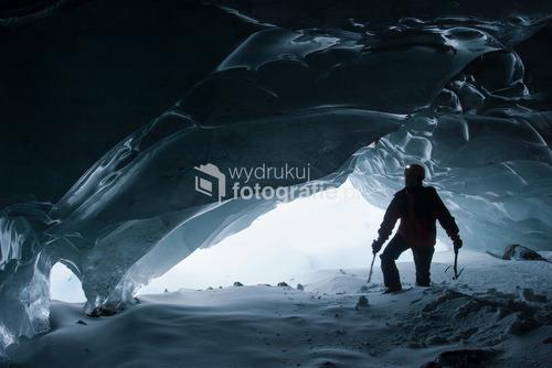 Jaskinia lodowa, Wyspa Króla Jerzego, Antarktyda