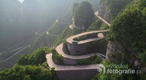 Tongtian Highway, Zhangjiajie, Chiny