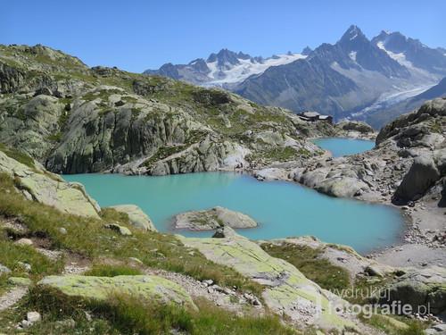 Lac Blanc, Alpy Francuskie, sierpień 2017