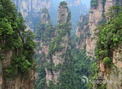 Zhangjiajie National Forest Park, Chiny, maj 2016