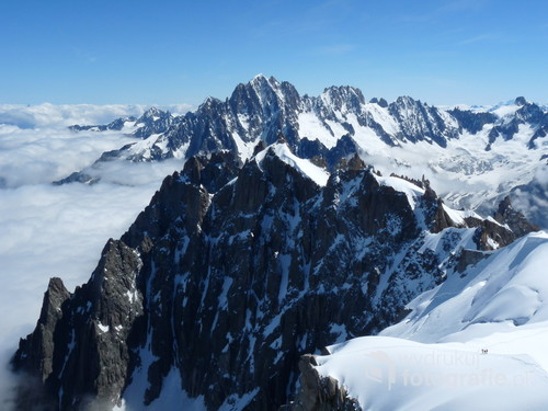 Alpy Francuskie, rejon Chamonix, sierpień 2017