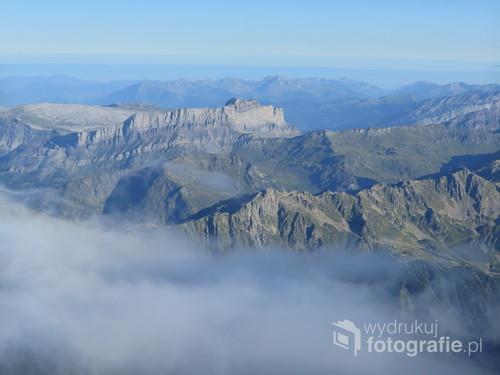 Chaine des Fiz, Alpy Francuskie, sierpień 2017.