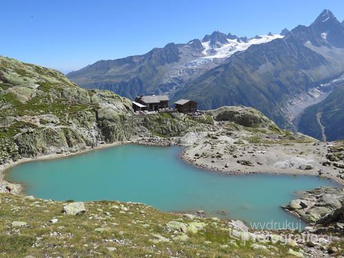 Alpy Francuskie, rejon Chamonix, sierpień 2017.